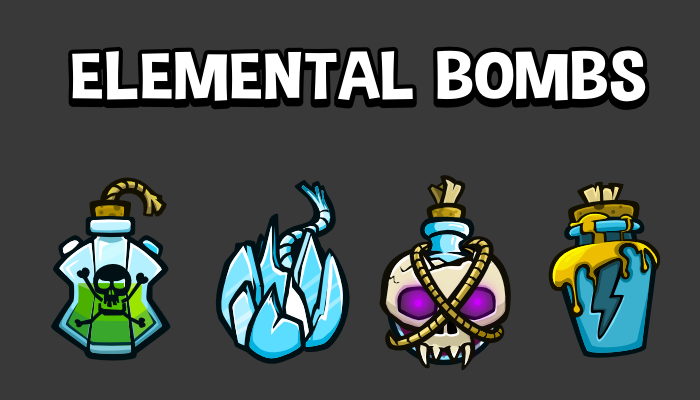 Elemental bombs