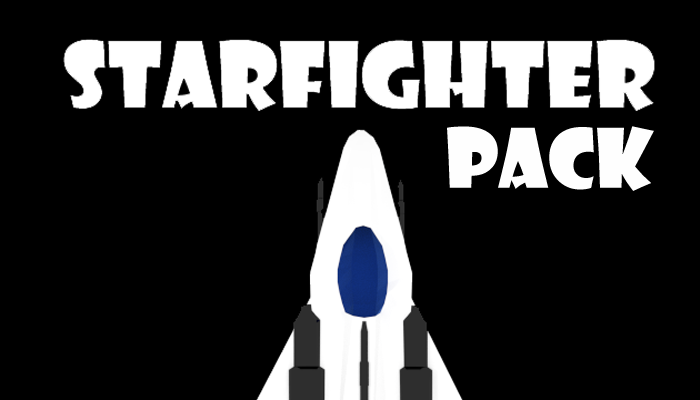 Animated 2D Starfighter Pack
