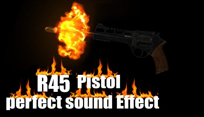 R45 Pistol Sound
