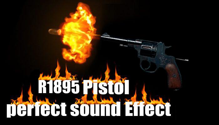 R1895 Pistol Sound