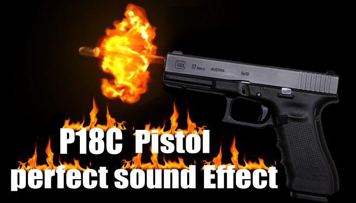 P18c Pistol Sound