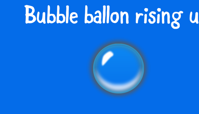 Underwater Bubble Balloon Rise Up Protector