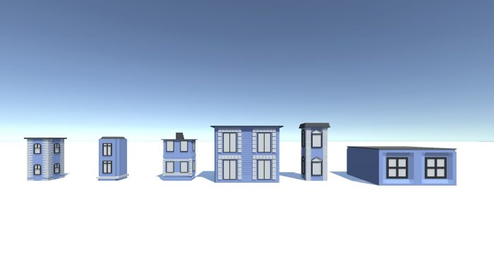 Six Simple Houses
