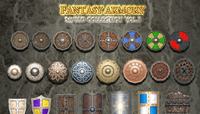 Medieval Fantasy Shield Collection Vol.1
