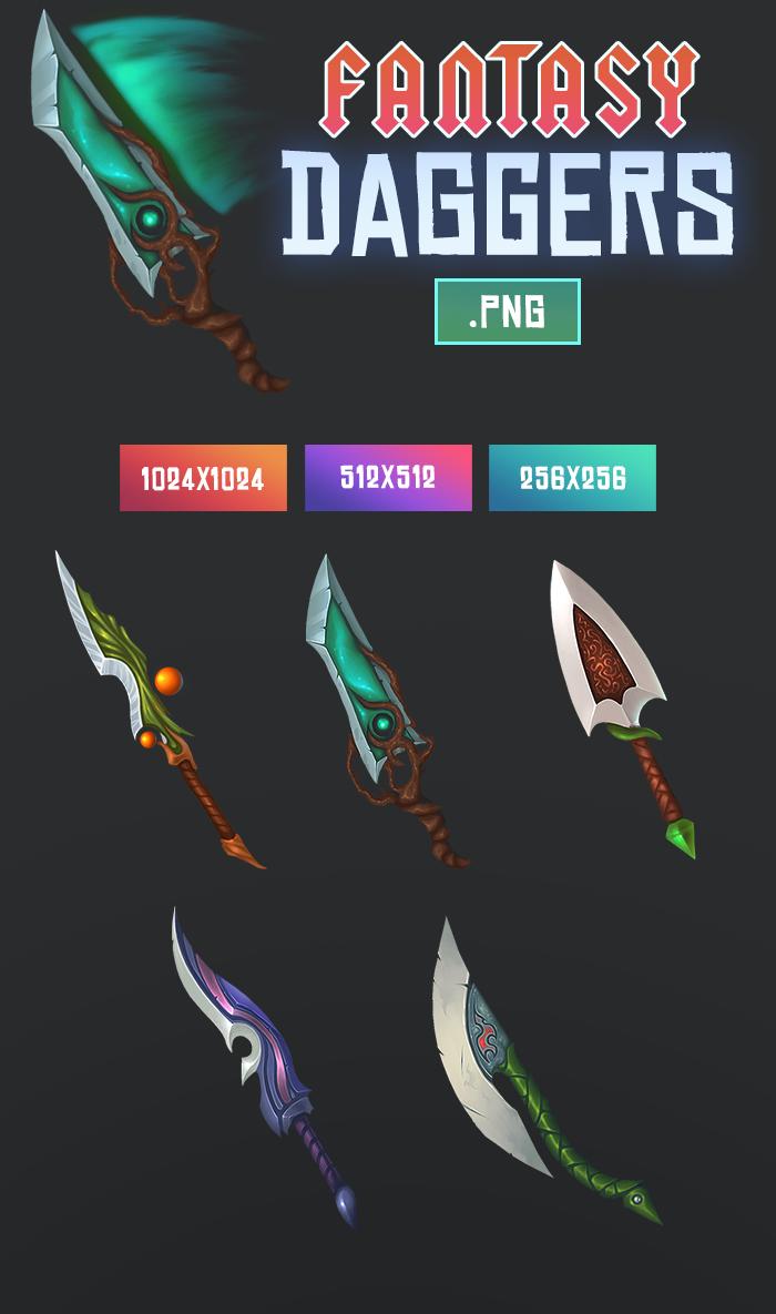 Fantasy Daggers