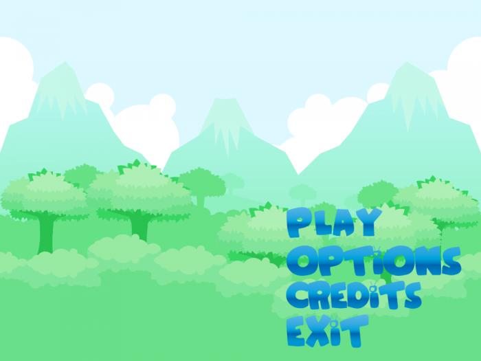 Blue Ballony – Game User Interface