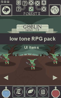 Low Tone RPG Pack – Items