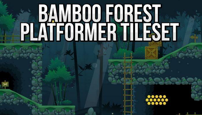 Bamboo Forest – Platformer Tileset