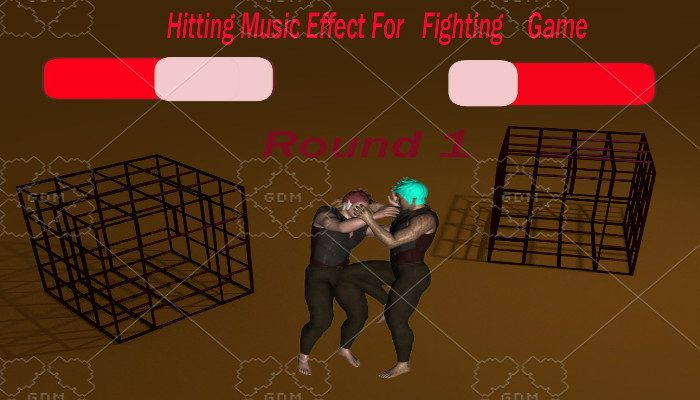 Hitting music effect For Fighting Game