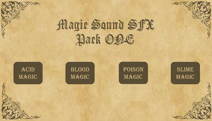 Magic SFX Pack One