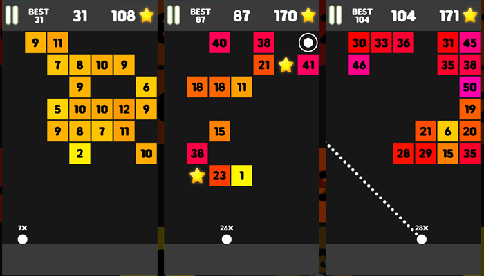 Original Ballz : brick breaker demolition game – shoot the balls and break the blocks