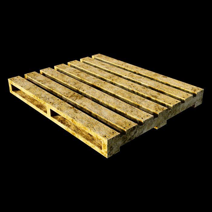 Wooden skid aka pallet by mkaplunow