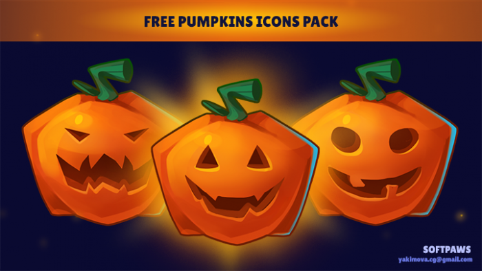 Halloween Pumpkins Icon Pack