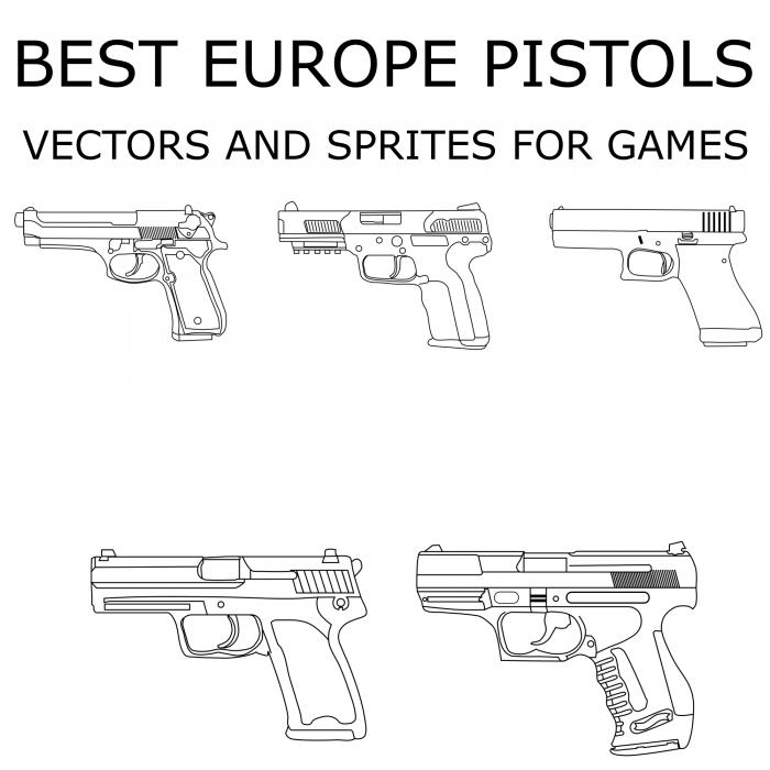 Pistols 2 – Europe pistols