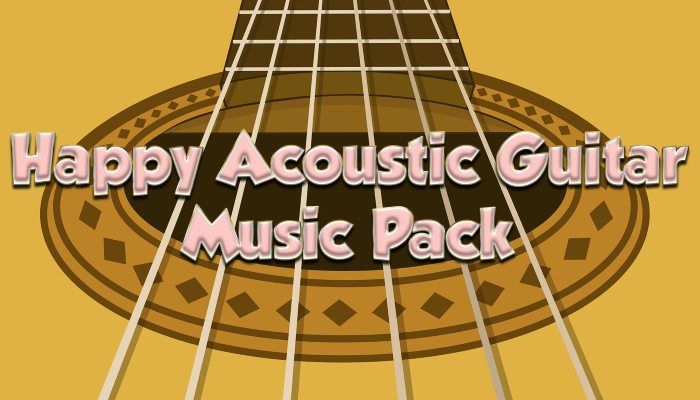 Happy Acoustic Guitar Music Pack