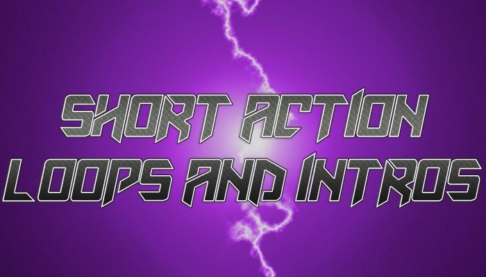 Short Action Logos and Loops Pack