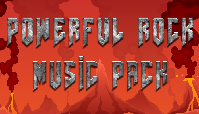 Powerful Rock Music Pack