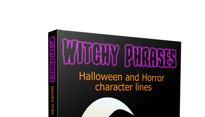 Wicked Witch horror and Halloween phrases