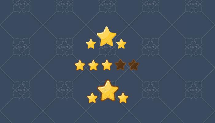 Stars – Gold