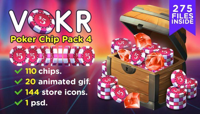 VOKR – Poker Chip Pack 4