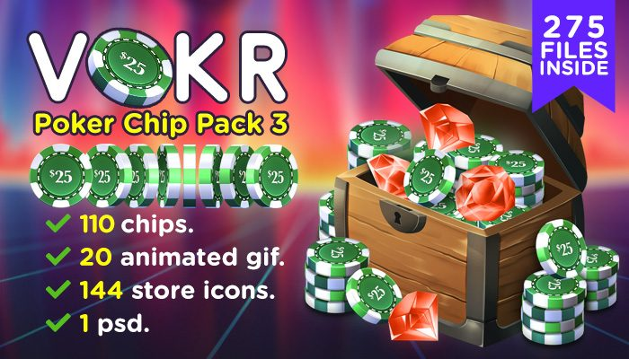 VOKR – Poker Chip Pack 3
