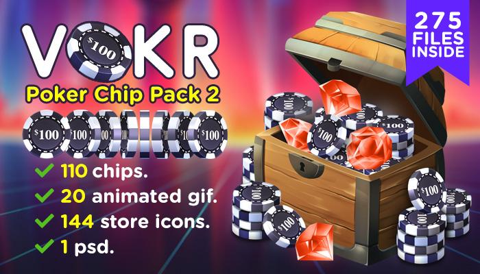 VOKR – Poker Chip Pack 2