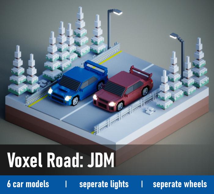 Voxel Road: JDM