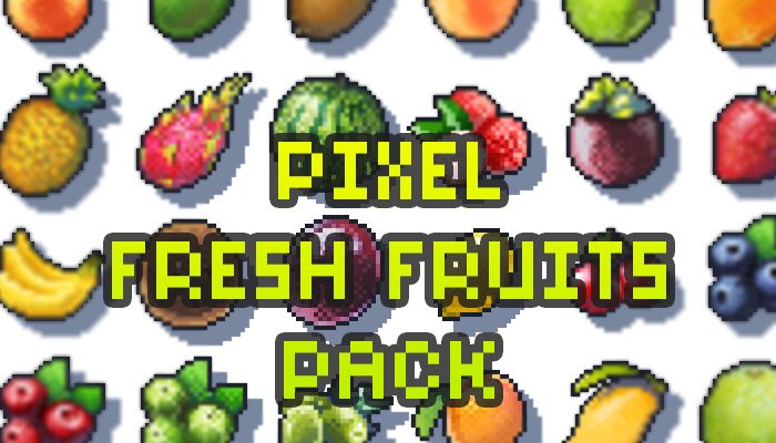 Pixel Fruits Pack