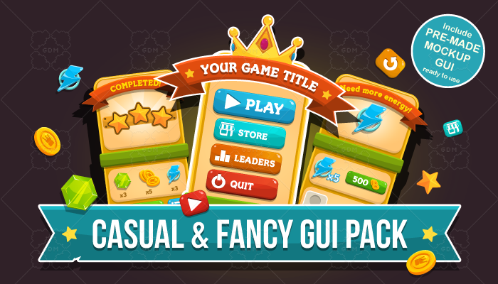 Casual and Fancy GUI Pack