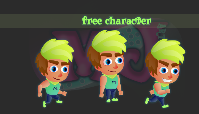 FREE 2D Game Character 6