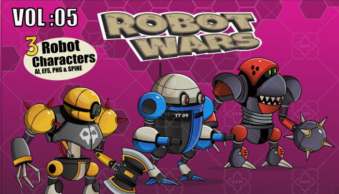 Robot Wars Vol: 05
