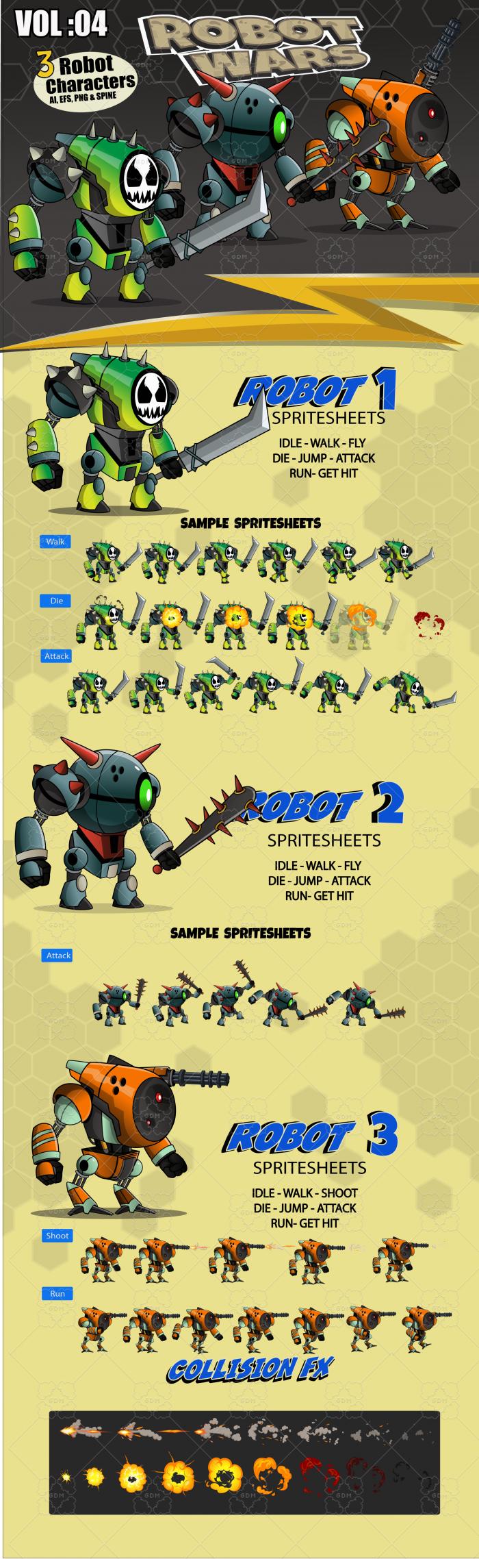 Robot Wars Character Vol: 04