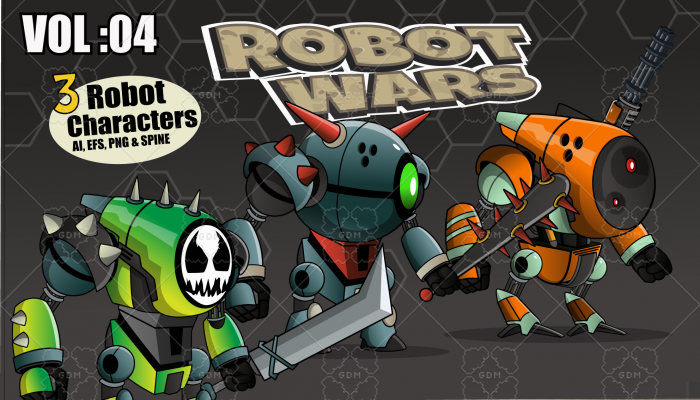 Robot Wars Character Vol: 04
