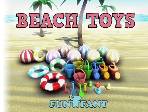 Beach Toys Pack