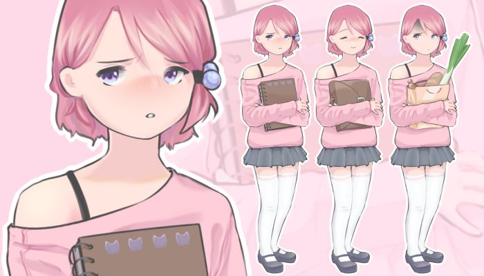 Natasha – Visual novel Sprite