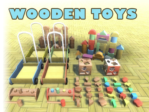 Wooden Toys Pack