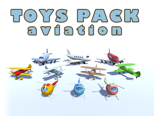 Toys Pack Aviation