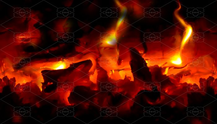 REPEATABLE BACKGROUND FOR SCROLLING – INFERNO