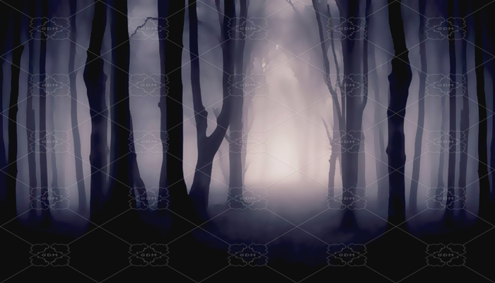 REPEATABLE BACKGROUND FOR SCROLLING – DARK WOODS