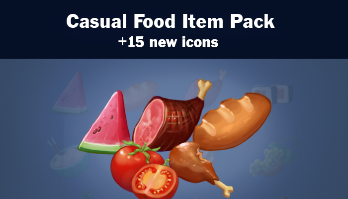 Casual Food Item Pack
