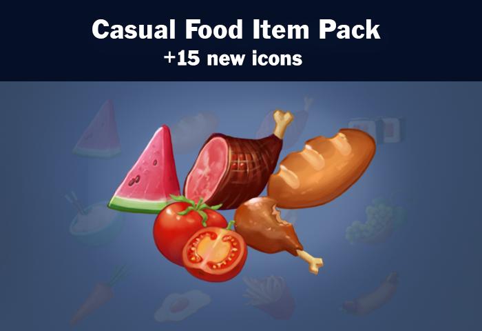 Casual Food Item Pack