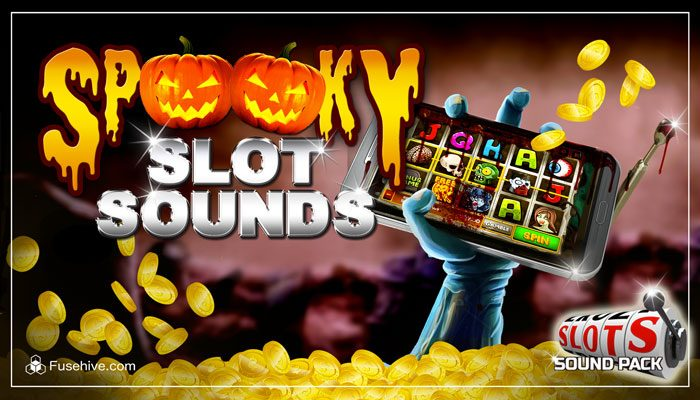 SPOOKY CASINO SLOT GAME SOUNDS – Scary Music and Sound Effects Library for Horror and Halloween Slots