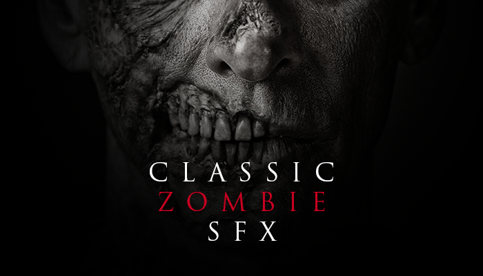 Classic Zombie Sound Effects