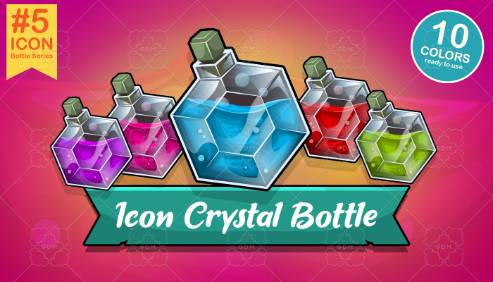 Icon Crystal Bottle