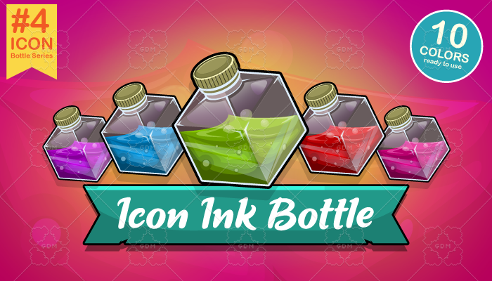 Icon Ink Bottle