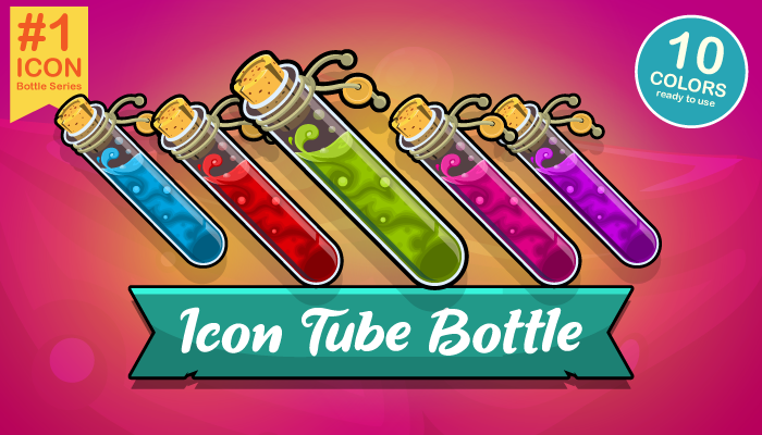 Icon Tube Bottle