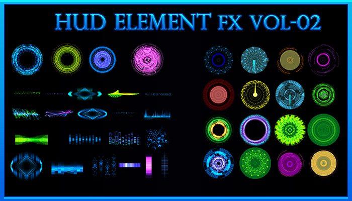 HUD ELEMENTS FX- Vol.02