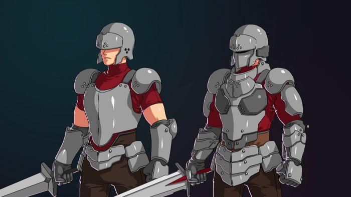 RPG Soldier Swordsman Class