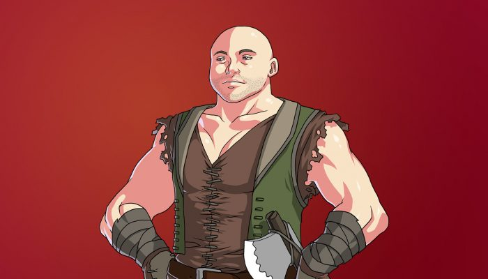 RPG Ruffian Boss – Full Body with Poses