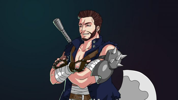 RPG Mercenary Boss Leader